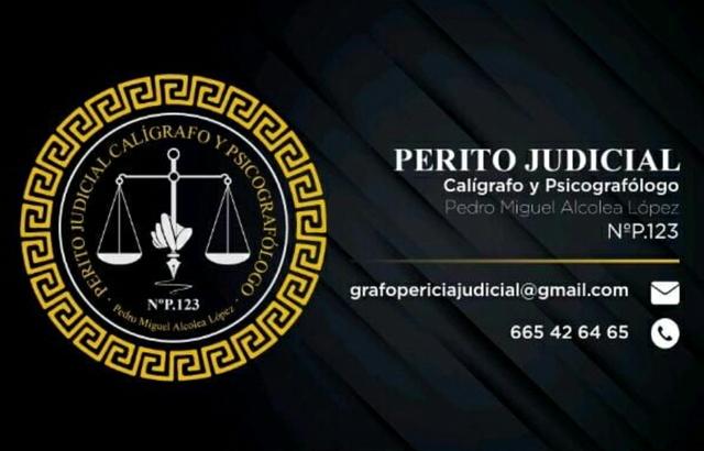 PERITO JUDICIAL CALÍGRAFO PSICOGRAFOLOGO - foto 2