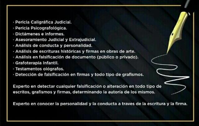 PERITO JUDICIAL CALÍGRAFO PSICOGRAFOLOGO - foto 3