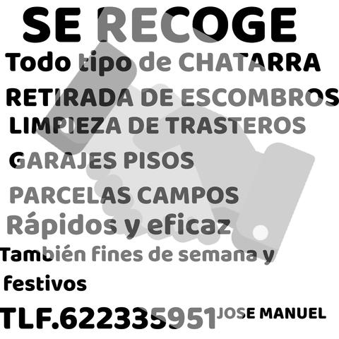 SE RECOGE TODO TIPO DE CHATARRA Y METALE - foto 1