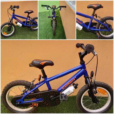 Bicicleta Infantil 14 Pulgadas,  Conor