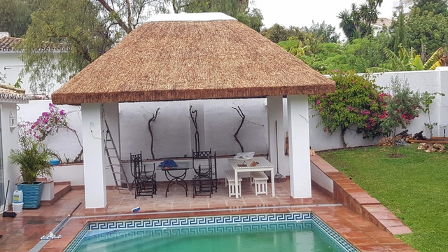 MONTAJE DE JUNCO AFRICANO - foto 1