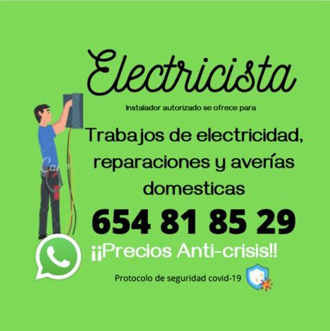ELECTRICISTA AUTORIZADO BARATO - foto 1