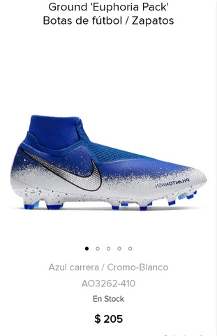 Botas De Fútbol Infantil Nike