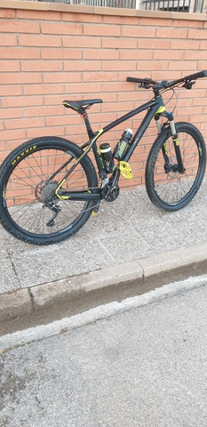 Bicicleta Montanyà  Giant Carbono