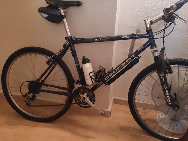 Bicicleta Peugeot Shimano Deore Lx