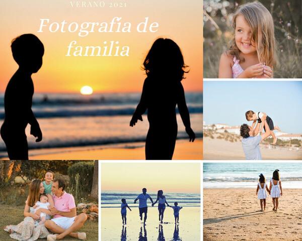 FOTOGRAFÍA DE FAMILIA,  VERANO 2021 - foto 1