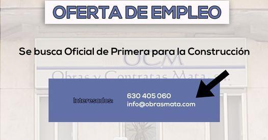 OFICIAL DE PRIMERA DE LA CONSTRUCCIÓN - foto 1