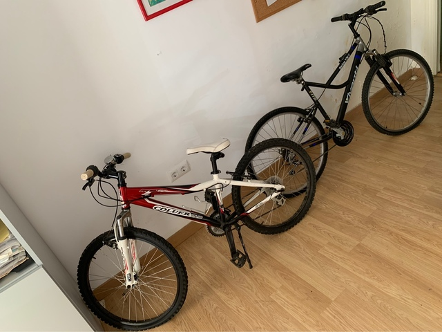 Dos Bicicletas En Buen Estado.