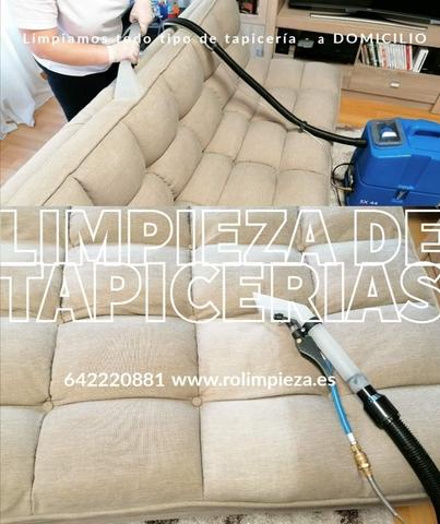 LIMPIEZA DE TAPICERÍA - foto 1
