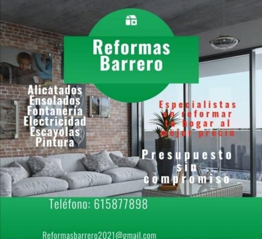 REFORMAS BARRERO - foto 1