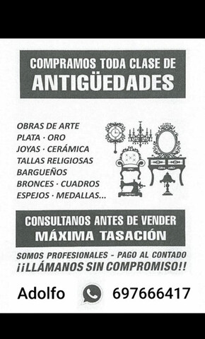 COMPRO ANTIGÜEDADES - foto 1