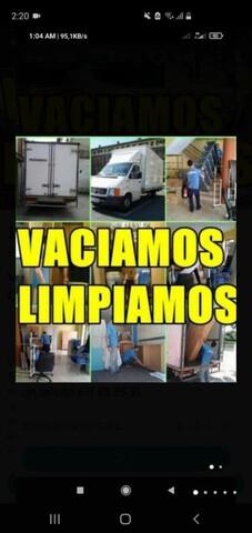 MUDANZAS PORTES LIMPIEZAS VACIADOS! - foto 1