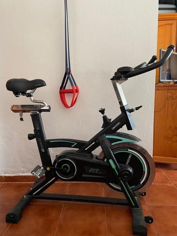 Bicicleta Spinning Con Sillín De Gel