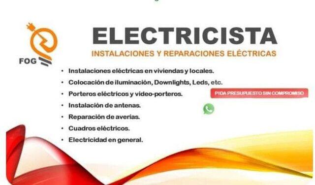 ELECTRICISTA URGENCIAS AUTORIZADO - foto 1