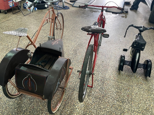 Bicicleta Con Sidecar