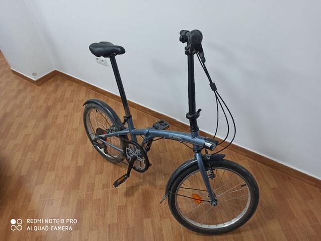 Bicicleta Plegable,  Casi Nueva