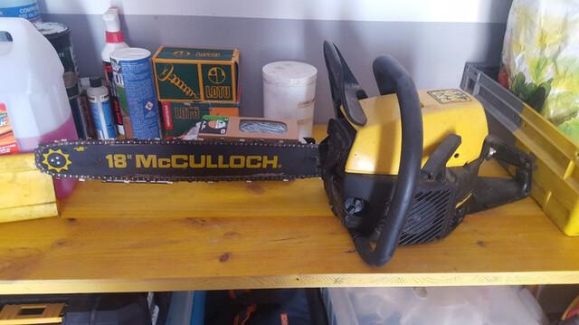 Motosierra Mcculloch Gasolina