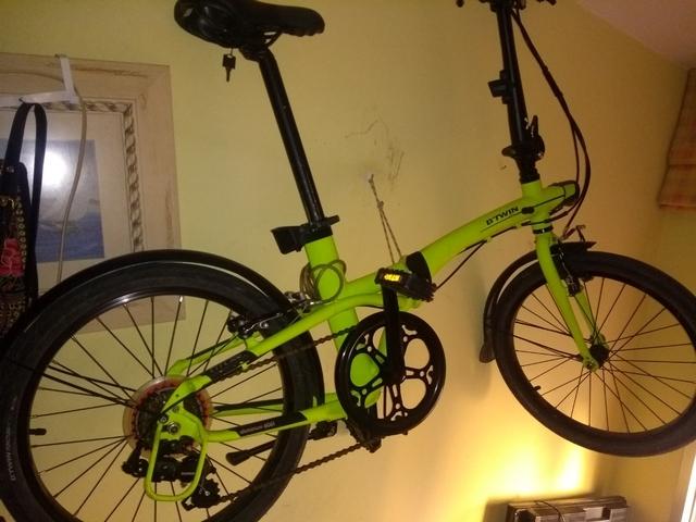 Bici Plegable Tilt 500,  Aluminio 6061