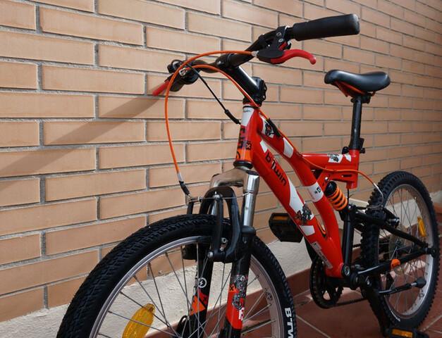 Bici Infantil Doble Suspensión 20 Pulgad