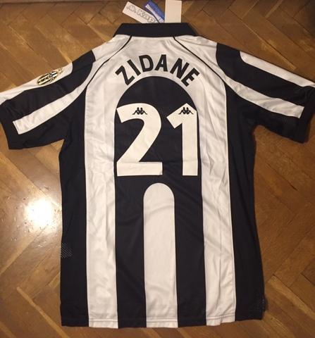 Camiseta Futbol Retro Zidane Juventus