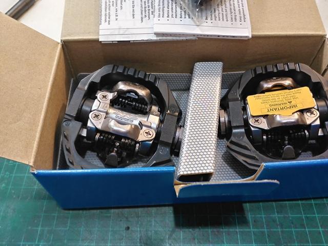 Pedales Automáticos Shimano Mtb