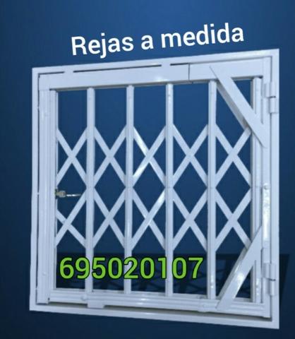 Seguridad Ventana Y Puerta Reja A Media