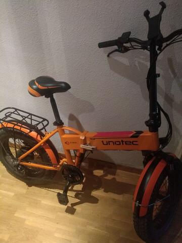 Bicicleta Eléctrica Casi Nueva , Ruedas