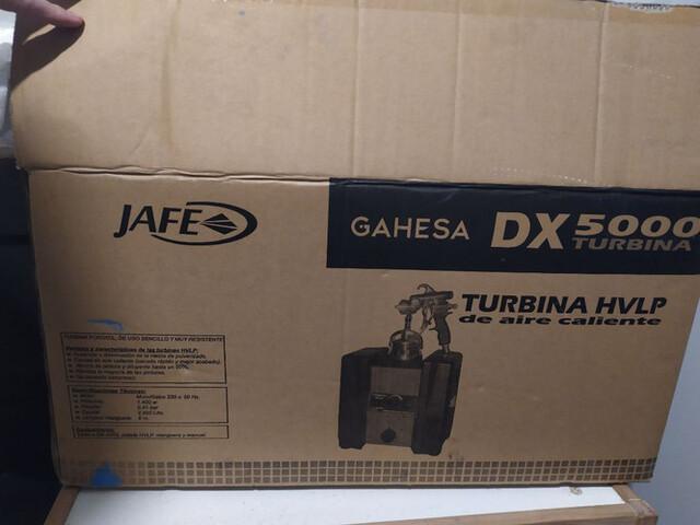 Turbina De Aire Caliente Gahesa Dx5000