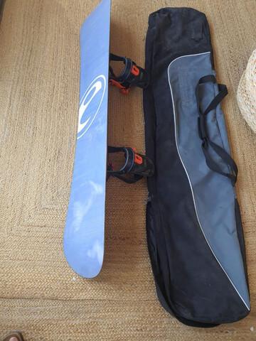 Tabla De Snowboard Elan + Funda
