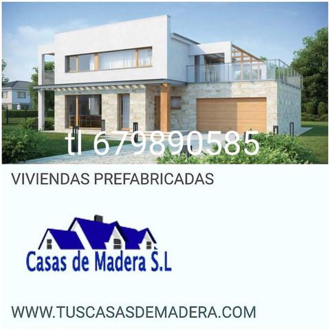 CASAS DE MADERA SOMOS  FABRICANTES.  - foto 2