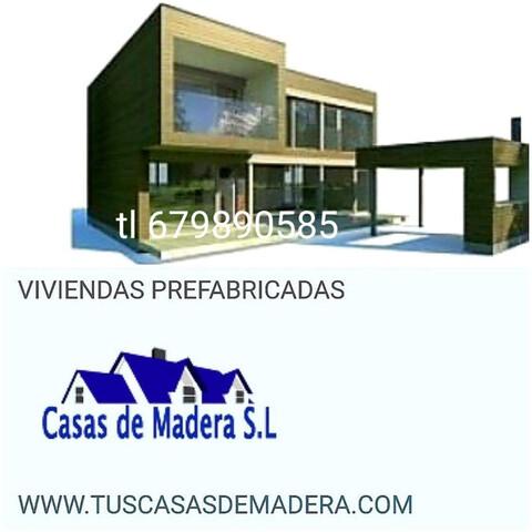 CASAS DE MADERA SOMOS  FABRICANTES.  - foto 3