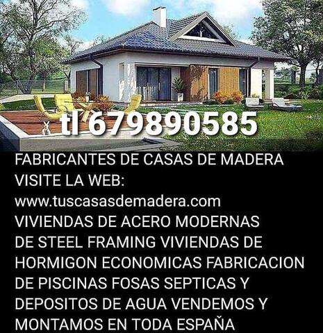 CASAS DE MADERA SOMOS  FABRICANTES.  - foto 7