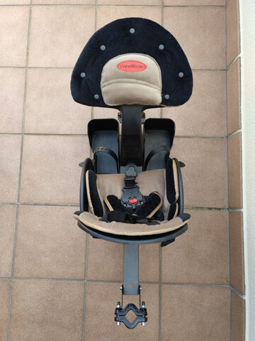 Silla Bici Weeride Safe Front Deluxe
