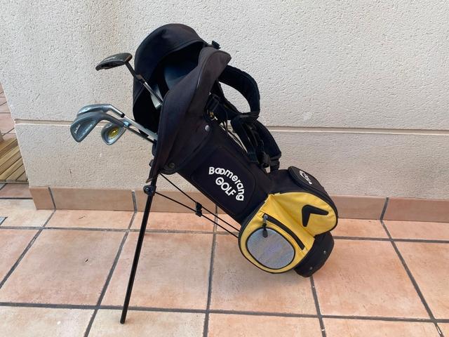 Carrito De Golf Junior Y 5 Palos