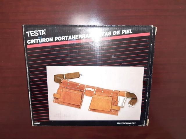 Cinturón Porta Herramientas De Piel