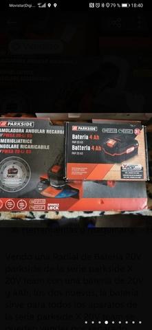 Amoladora Angular Recargable  Batería 4A
