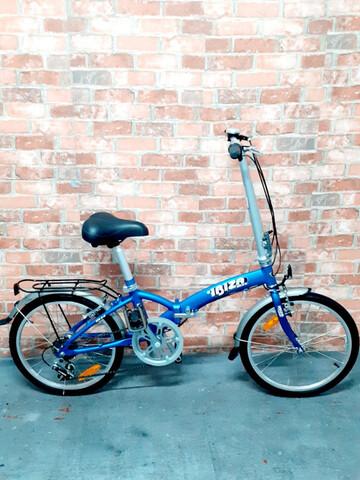 Bicicleta Plegable De Aluminio Bh