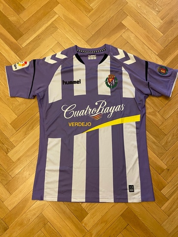 Camiseta Futbol Real Valladolid  Tempora