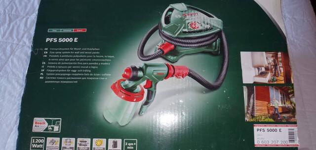 Pistola Para Pintar Bosch Pfs 5000 E