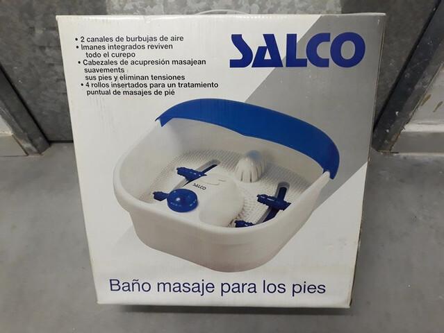 Baño Masaje Para Pies Marca Salco