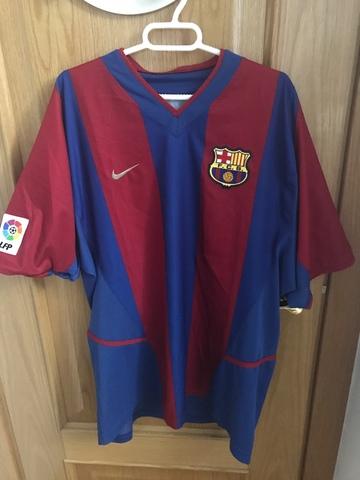 Camiseta Barça.  Talla L.