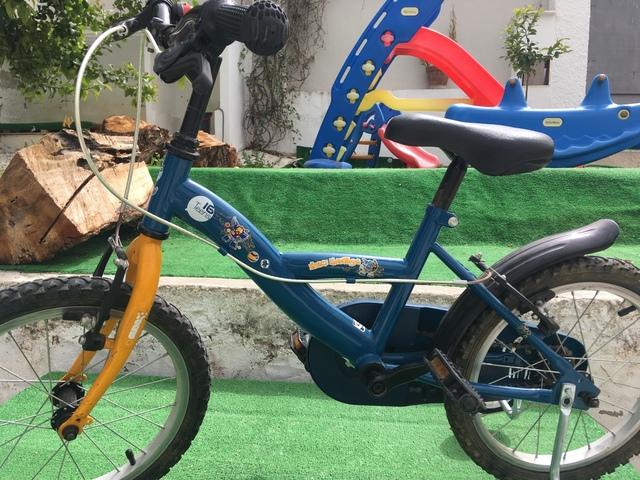 Bicicleta Niños Con Ruedines