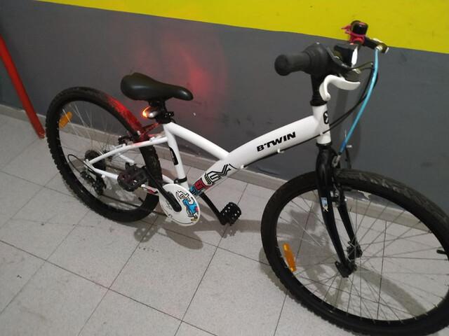 Bici 24 Pulgadas Impecable Decathlon