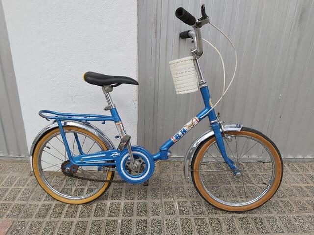 Bicicleta Bh Infantil Años 70