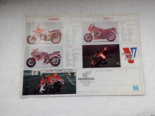CATALOGO  HONDA 1985 TRAIL XL 200 R - foto 4