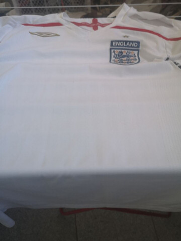 Camiseta David Beckham Firmada