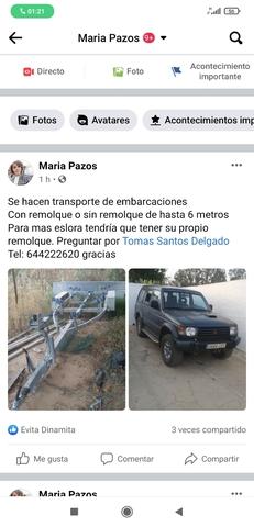 TRANSPORTE DE EMBARCACIONES - foto 1