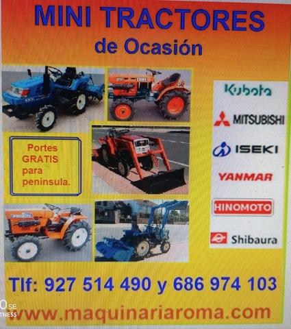 #MINI TRACTORES - 4X4  2X4.  TAMBIÉN CON - foto 2