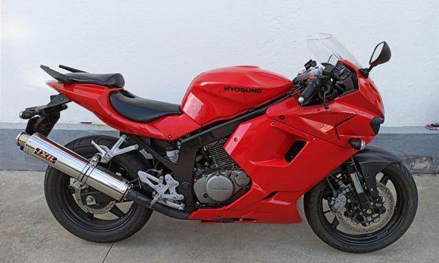 HYOSUNG - GTR 125 + MOTOR 250 COMPLETO - foto 1