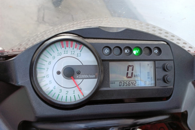 HYOSUNG - GTR 125 + MOTOR 250 COMPLETO - foto 2